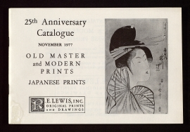 Old master and modern prints, Japanese prints