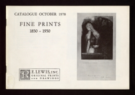 Fine prints, 1850-1950