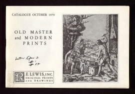Old master and modern prints