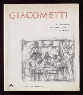 Giacometti, a sketchbook of interpretive drawings