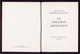 La Creation artistique