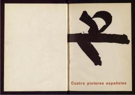Cuatro pintores españoles