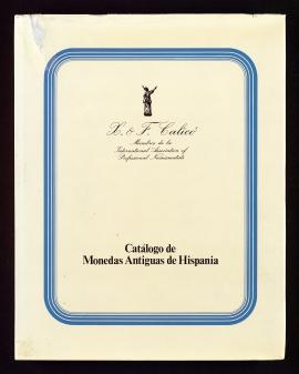 Catálogo de monedas antiguas de Hispania