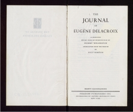 The Journal of Eugène Delacroix