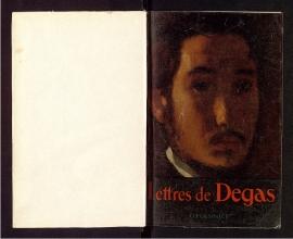 Lettres de Degas