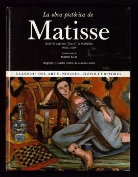 La Obra pictórica de Matisse