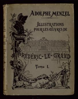 Illustrations des oeuvres de Frédéric Le Grand