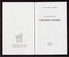 La Pintura de Gerardo Rueda
