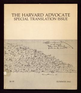 The Harvard advocate.