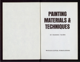 Painting materials & techniques