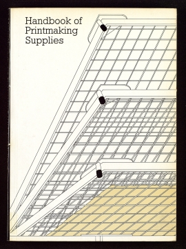 Printmakers Council handbook of printmaking supplies