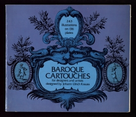 Baroque cartouches for designers and artists