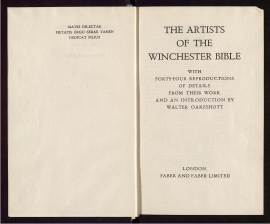 The Artists of the Winchester Bible