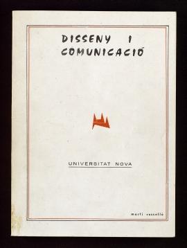 Disseny i comunicació