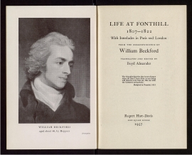 Life at Fonthill, 1807-1822