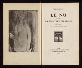 Le Nu dans la peinture moderne, 1863-1920