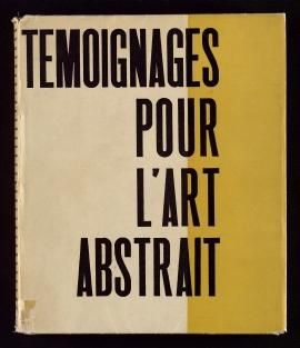 Témoignages pour l'art abstrait 1952