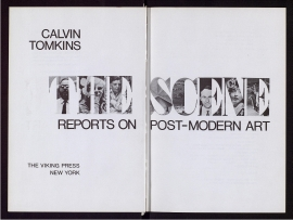 Reports on post-modern art