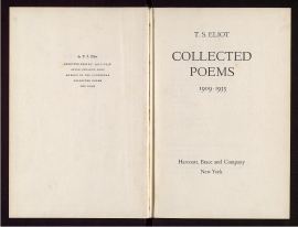 Collected poems, 1909-1935