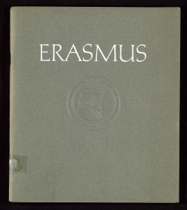 Erasmus, on the 500th anniversary of his birth