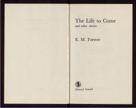 The Life to come and other stories