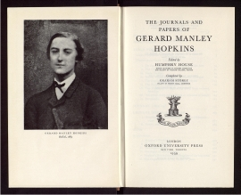 The Journals and papers of Gerard Manley Hopkins