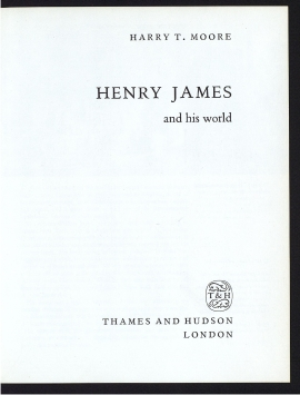 Henry James and his world
