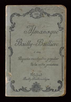 Almanaque Bailly-Bailliere 1901