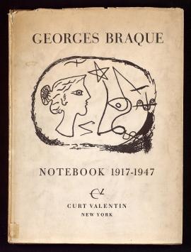 Cahier de Georges Braque, 1917-1947