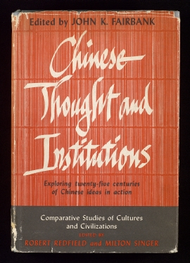 Chinese thought and institutions